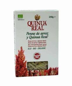 Macarones de arroz y Quinua Real