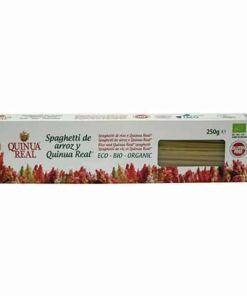 Spaghetti de arroz y Quinua Real
