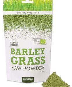 polvo de cebada verde