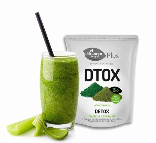 Dtox (chlorella y spirulina) El Granero Integral