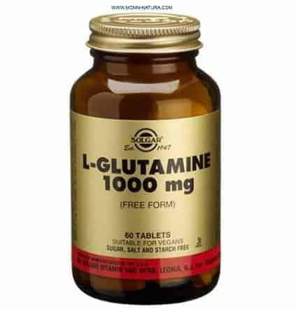 L L-Glutamina 1000 mg forma libre Solgar