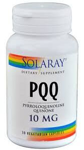 PQQ 10 mg Antioxidante Solaray
