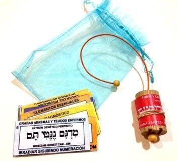 comprar pendulo hebreo con tarjetas