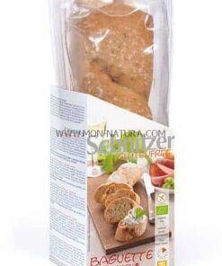 Baguette de jamón y cebolla 2x160gr. BIO Schnitzer