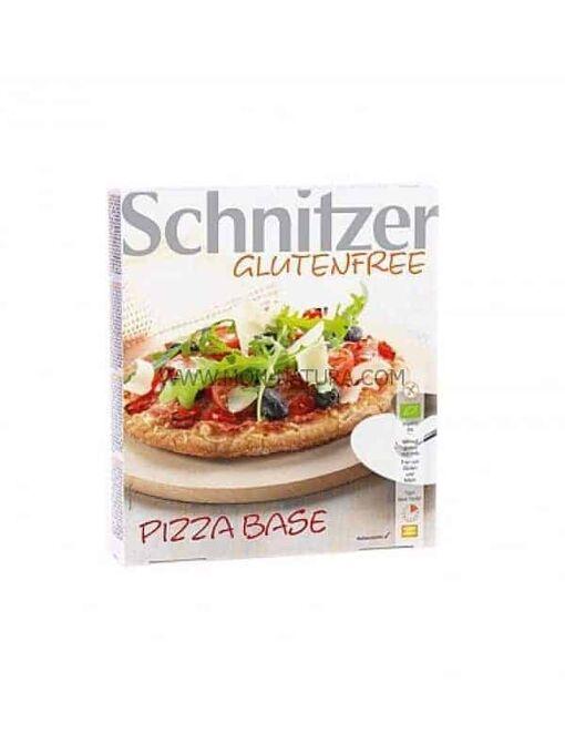 comprar base de pizza sin gluten bio Schnitzer