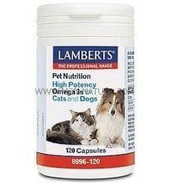 comprar pet nutrition omega 3 perros y gatos lamberts