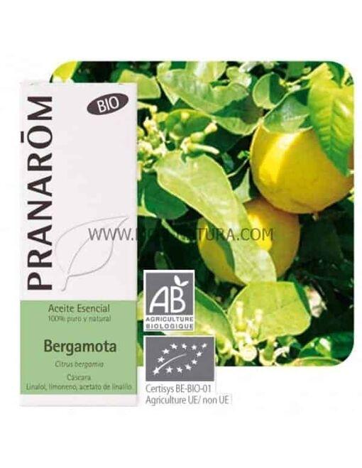 comprar aceite esencial de bergamota pranarom