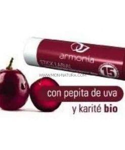 comprar protector labial con pepita de uva y karite armonia
